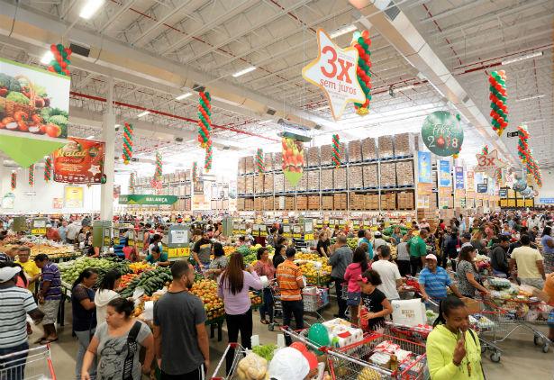 Inauguração de loja Assaí em Mogi das Cruzes, ocorrida em dezembro. (Foto: Divulgação)