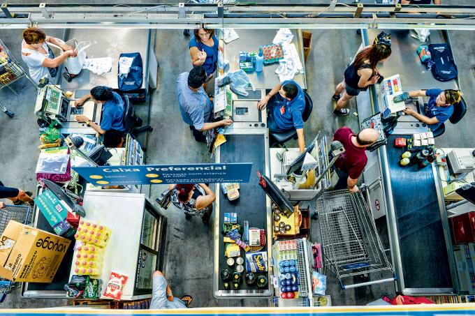 Loja do Walmart no Brasil: há anos sem registrar lucro (Germano Luders/Revista EXAME)