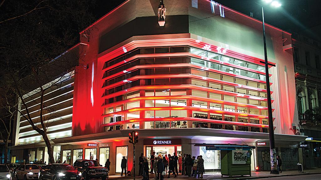 Castelhano: loja da Renner em Montevidéu, no Uruguai. Resultados estão 50% acima do esperado (Crédito:Flavio Giusti)